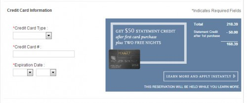 You can get a $50 statement credit after a little trick!