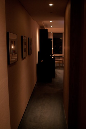 The entry to my Deluxe room.