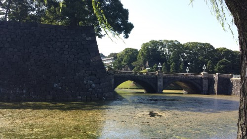 I was a bit bummed at the Imperial Palace. You can't really see much since the Emperor still lives there. The moat and outer walls were pretty cool though.