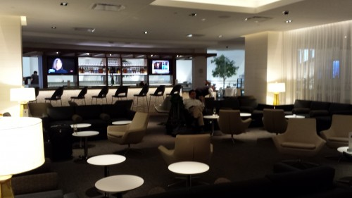 LAX Star Alliance Lounge Seating 2