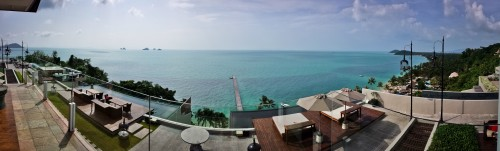 Panorama of the InterContinental Samui