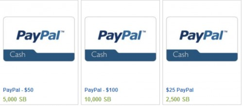 PayPal is essentially cash.