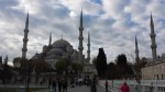 The Blue Mosque after a day of rain.